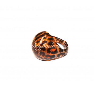 Кольцо Тигровое из Муранского стекла