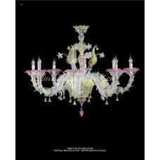 Люстра Cristallo Multicollor из муранского стекла