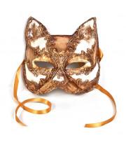 Маска Кошки золотая (Gatto Oro)