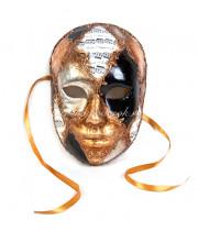 Маска лицо мужское из папье маше