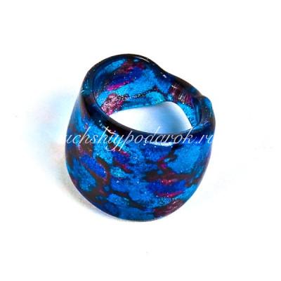 Кольцо Давиде из Муранского стекла