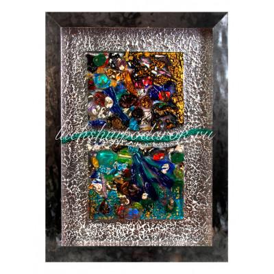 Панно Абстракция из Муранского стекла
