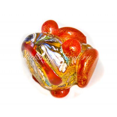 Фигурка жабы из муранского стекла