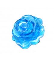 Брошь Роза из муранского стекла