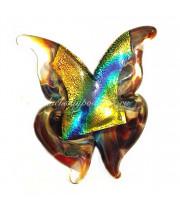 Брошь Бабочка Farfalla хальцидон